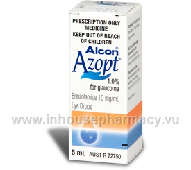 Azopt 1% Eye Drops (Brinzolamide) 5ml/Pack